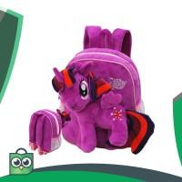 Tas Anak Sekolah Baru - Ransel Boneka Little Pony Bahan Yelvo Halus