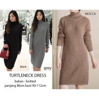 Limited Turtleneck Sweater Dress