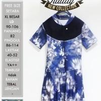Murah swimSAKURAblue XL/XXL/3L/4L/5L baju renang wanita big j