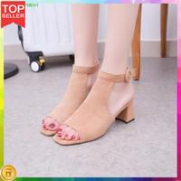 Sandal Sepatu Wanita High Heels Murah Wedges
