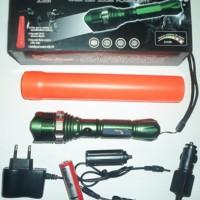 jual Senter Police Reflector Cree Q5 LED Bulb ready