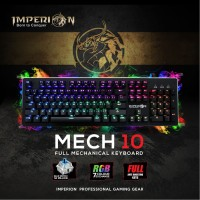 Keyboard Gaming Imperion Mech 10 KG-M10R Mechanical, RGB