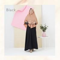ATHIYYAH AZZARINE DRESS BLACK GAMIS ONLY POLOS LADY ZARA FORMAL