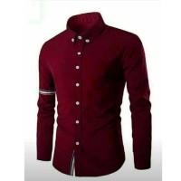 Harga tp fashion muslim baju modern koko pria katun biru tua kks 53 | antitipu.com