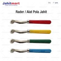 RADER / TRACKING WHEEL / ALAT POLA JAHIT GERIGI GAGANG WARNA WARNI