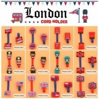 LONDON Cord Holder/ Klip Kabel/ Pengikat Kabel/Cable Winder