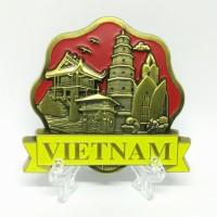 Souvenir magnet kulkas pajangan Vietnam oleh oleh negara Asean
