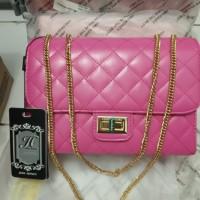 tas wanita original pink