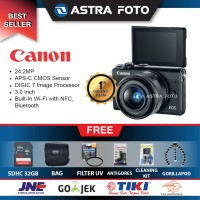Canon EOS M100 Kit 15-45mm Paket 32gb DAHSYAT !!