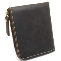 Dompet Kulit Pria VIntage dengan Pengunci Resleting terlaris