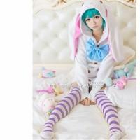 Miku bunny jacket hatsune miku cosplay