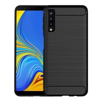 Samsung A7 2018 Case Anti Shock Slim Carbon Casing Not Hardcase Cover