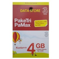 Voucher THREE PAMAX 4 GB