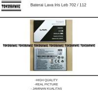Baterai Lava Iris Leb 702 / 112 / Ori / battrey / batrai / batre hp