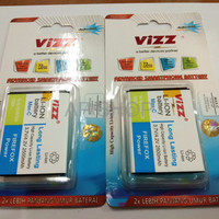BATRE BATERAI BATTERY DOUBLE POWER VIZZ SMARTFREEN ANDROMAX C MAX C