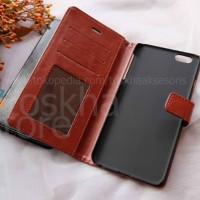 Flip Cover Wallet Leather Case Slim Cover Kulit Casing HP Iphone 6 6s