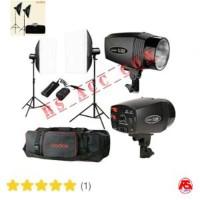 Murah !!! Paket Lampu Studio Mini Master 180 Godox Kits Komplit
