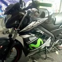 Sayap Fairing New Vixion NVL NVA Black Movistar