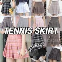 (#812)Colourfull Tennis Skirt/Rok Mini/Rok Pendek/Rok ada Celana