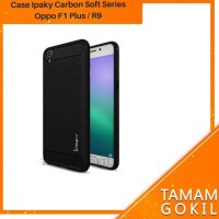New Produk Case Oppo F1 Plus R9 Ipaky Carbon Soft Series