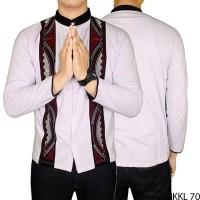 Harga baju muslim koko etnik lengan | Pembandingharga.com