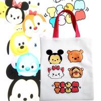 Goodie Bag Tsum Tsum Disney Tas Ultah Anak Motif Kartun Lucu Karakter