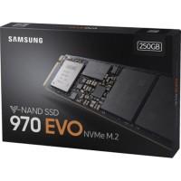 Samsung SSD M2 / M.2 970 EVO NVMe M.2 250GB MZ-V7E250BW