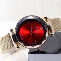 ( GROSIRAN ) jam tangan wanita Dior Magnet yang lagi ngetrend - Merah