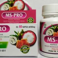 MS-Pro Kapsul Ekstrak Kulit Manggis Daun Sirsak Plus Propolis