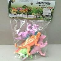 Mainan Dino World Warna Ceria Isi 4pcs