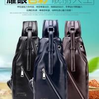 Tas Selempang Crossback PU Sling bag