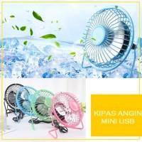Kipas / Kipas Angin Mini Usb / Usb Mini Fan / Portable Usb Fan - Merah