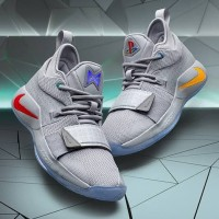 eef1211375ee Sepatu Basket PG 2.5 Playstation ON Nyala Logo PS Nike Paul George PS