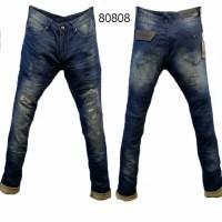 Harga celana panjang emporio armani ripped blue washed | antitipu.com