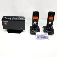 Panasonic Dect GSM Wireless Cordless Phone KX-TW501 (2 Handset)