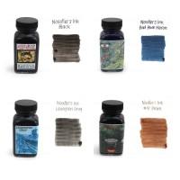 Noodler's Ink - Bullet Proof Ink - Bad Blue Heron and Black Ink