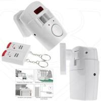 ALARM SENSOR GERAK 2 remote control Alarm BELL RUMAH anti maling