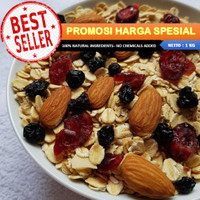 PROMOSI!! Harga Spesial Granola 8 in 1 (1 kilogram) by Granology