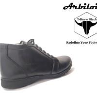 Sepatu Boots Casual Arbiloise Thorns Black Warna Hitam Original