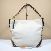 Tas wanita branded COACH C390 Brown trim second original 3749f9ef60