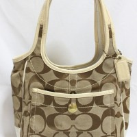 Tas branded COACH C256 Ergo medium hobo second bekas original 0e7bd45de7
