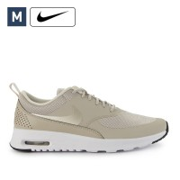 Sepatu Nike Air Max Thea Kasual Beige Sneakers Wanita Original