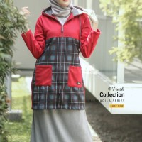 Hijacket Shaqila Ukuran All Size Hijab Muslimah Panjang