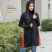 Hijacket Avia ukuran All Size jaket muslimah panjang