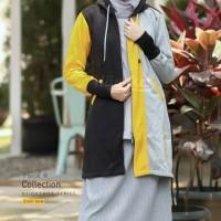 Hijacket Oksana Ukuran All Size Hijab Muslimah Panjang