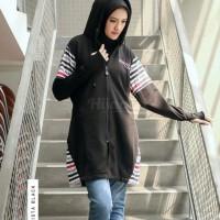 Hijacket Khalista Hijab ukuran All Size Hijab Jaket Muslimah Panjang