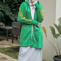 Hijacket Naura Ukuran All Size Jaket Hijab Panjang Muslimah