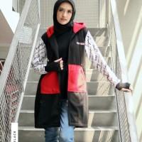 Hijacket Clareta Ukuran All Size Jaket Hijab Panjang Muslimah