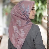 jilbab voal ultrafine mylady haya blossom pink