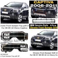 Grile Grill Bemper Chrome Chevrolet Captiva NFL C100